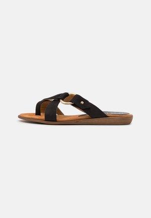 ADRIEL BLU - Pantofle - black