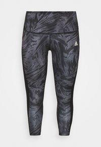 adidas Performance - Leggings - black/white - 0