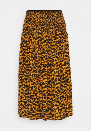 MAXI SKIRT - A-line skjørt - yellow dark