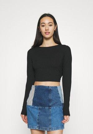 JAYDEN - Long sleeved top - black