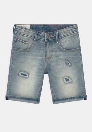 CARLISIO - Denim shorts - blue denim