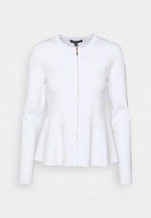 PEPLOM CARD - Strikjakke /Cardigans - off white