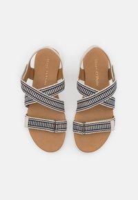 Marc O'Polo - VITTORIA  - Sandals - dark blue/offwhite - 5