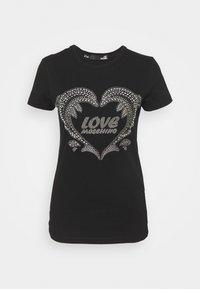 Love Moschino - T-shirt imprimé - black - 4