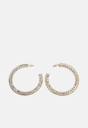 DEETJE - Earrings - gold-coloured/crystal