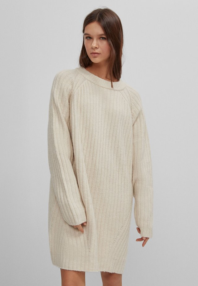 OVERSIZED FIT - Pullover - beige