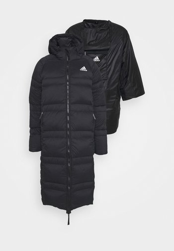 URBAN COLD.RDY OUTDOOR - Kabát zprachového peří - black