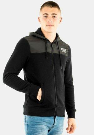 FLEBUR - Sweater met rits - noir