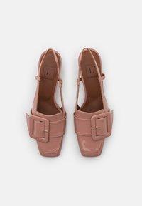 L'Autre Chose - HEELED SLINGBACK - Klasické lodičky - warm pink - 4
