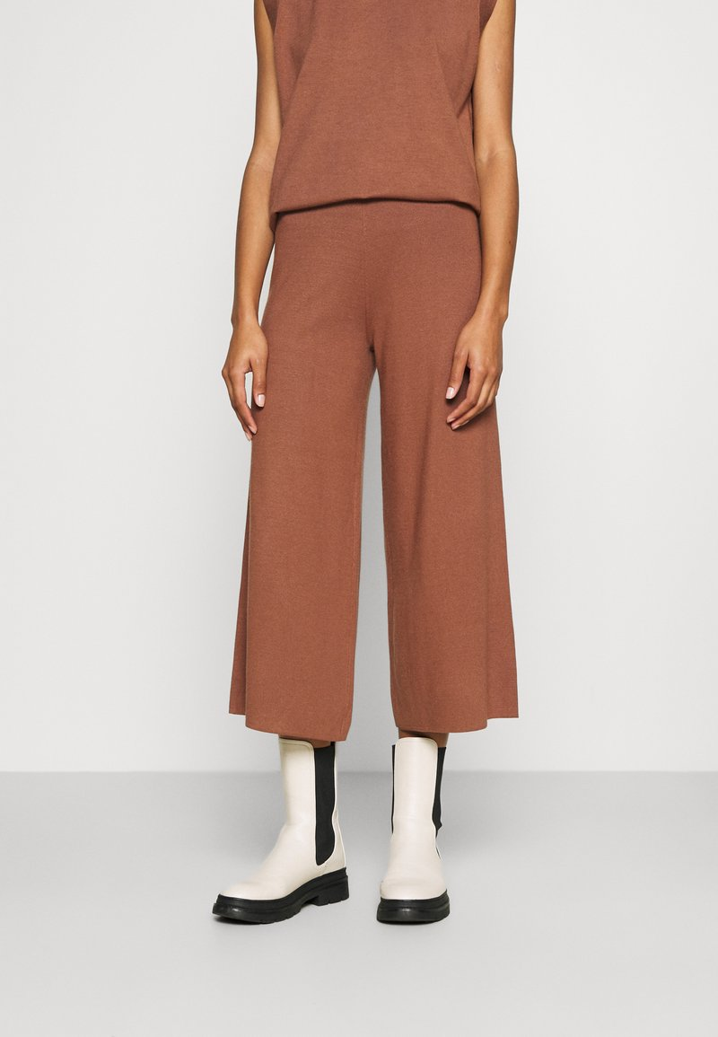 ALIGNE - CAIUS CULOTTES - Trousers - brown