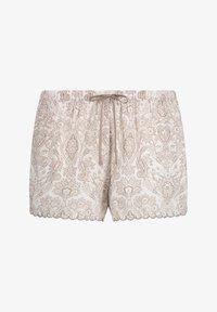 Hunkemöller - SCALLOP PAISLEY - Pantaloni del pigiama - white - 3