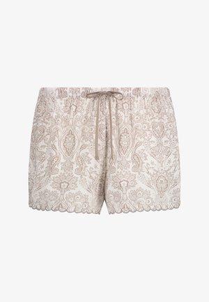 SCALLOP PAISLEY - Bas de pyjama - white
