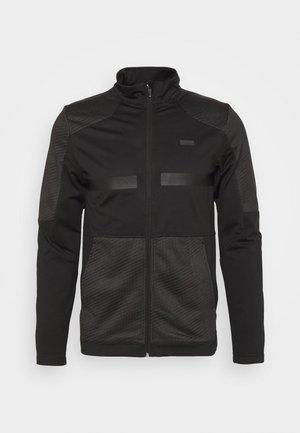 EXETER - Fleece jacket - black