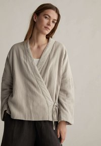 OYSHO - Summer jacket - beige - 0
