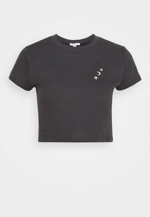 MOONBEAN MYSTIC - Print T-shirt - charcoal