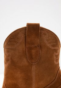 Toral Wide Fit - Santiags - basket cognac - 2