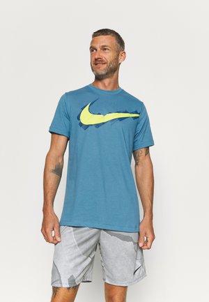 TEE LOGO - T-shirt z nadrukiem - dutch blue