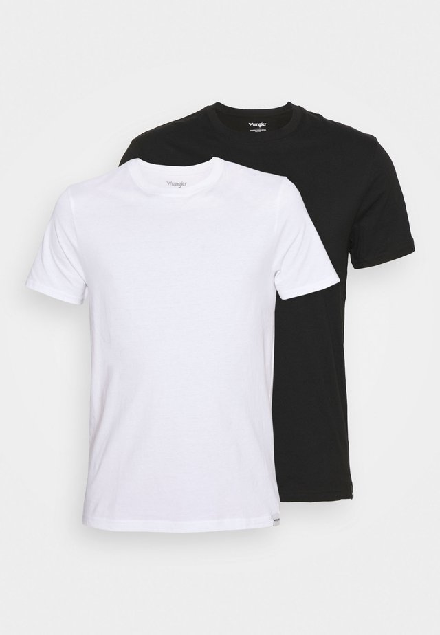 TEE 2 PACK - T-shirt basic - black