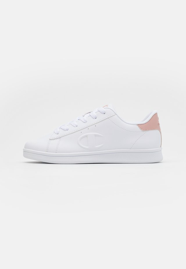 LOW CUT SHOE ANDREA - Zapatillas de entrenamiento - white/pink