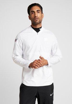 NFL 100 YEARS NEW YORK GIANTS COACH JACKET - Training jacket - white/pure platinum