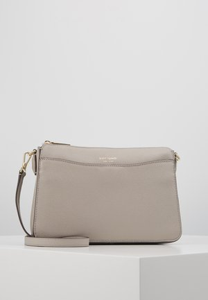 MARGAUX MEDIUM CROSSBODY - Across body bag - true taupe