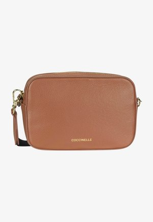 TEBE CROSSBODY BAG - Across body bag - cinnamon