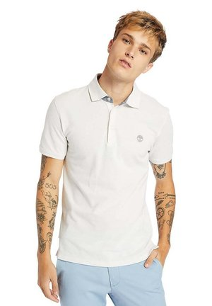 OXFORD  - Polo shirt - white sand