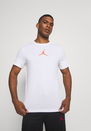 JUMPMAN CREW - Camiseta estampada - white