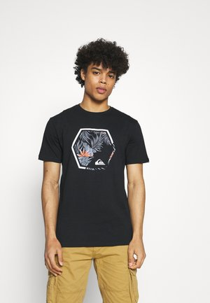 FADING OUT  - Print T-shirt - black