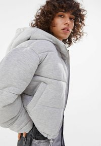 Bershka - Winter jacket - light grey - 3