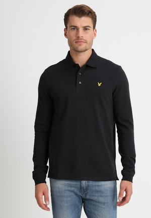 Polo shirt - true black