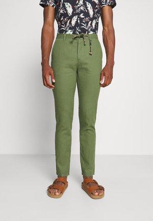PANT BEACH - Pantalones - dark khaki