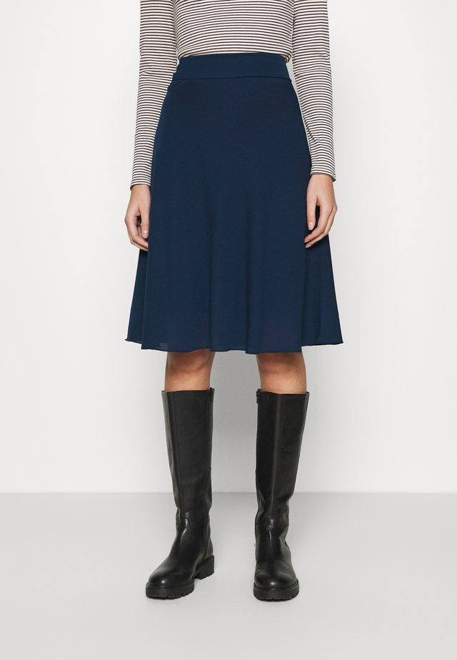 STELLY C - A-line skirt - navy