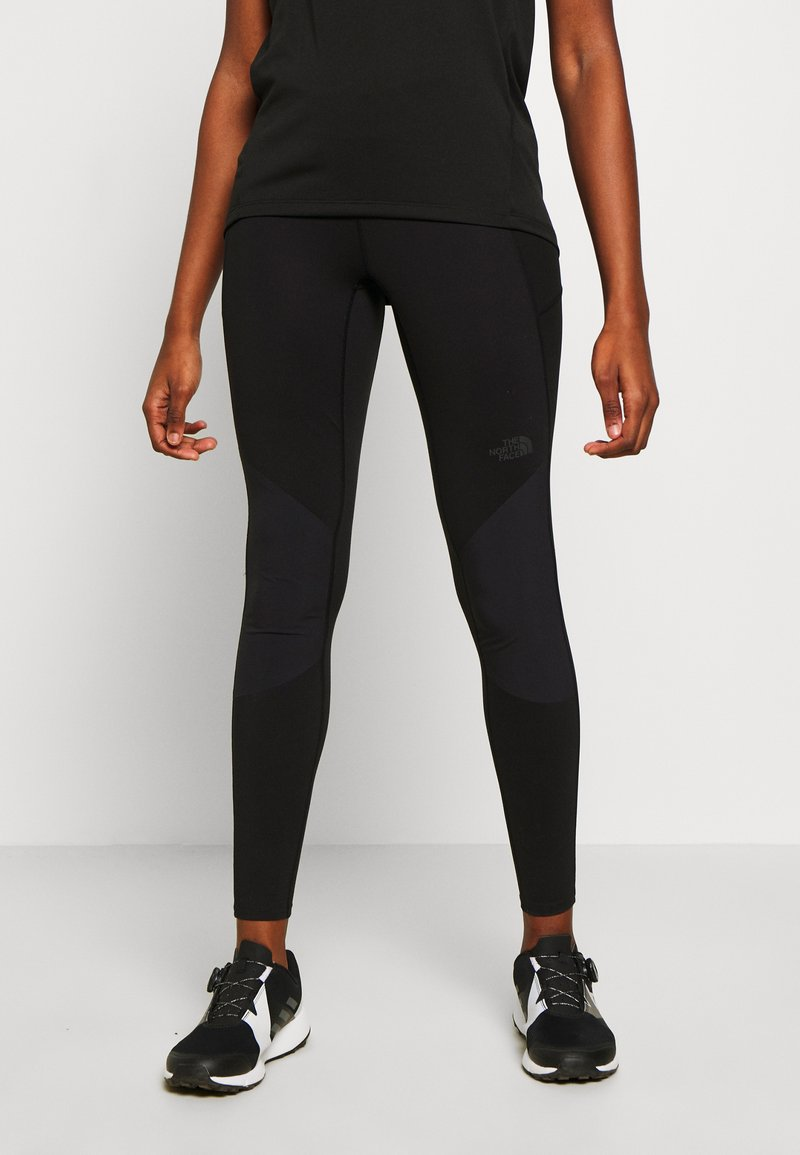 The North Face - WOMEN'S HYBRID HIKE TIGHT - Tights - black