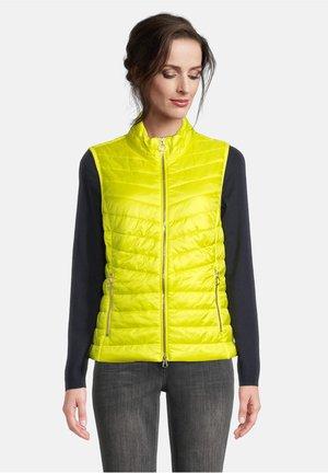 Down jacket - neon yellow