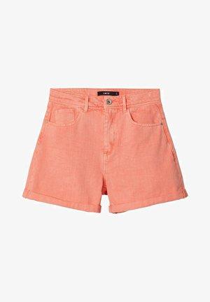 MOM  - Jeans Short / cowboy shorts - blooming dahlia