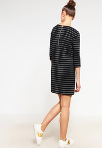 Vila - VITINNY - Day dress - black/snow white - 2