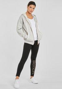 Bench - Zip-up sweatshirt - grau-meliert - 1