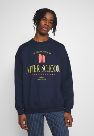 AFTER SCHOOL  - Sweatshirt - navy