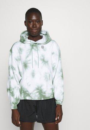 HERITAGE HOODIE DYE - Sweatshirts - white/steam