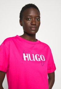 HUGO - NAILY - Maxi dress - bright pink - 3