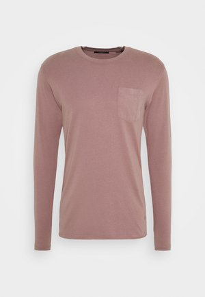 JPRBLALANCE TEE CREW NECK - Long sleeved top - twilight mauve