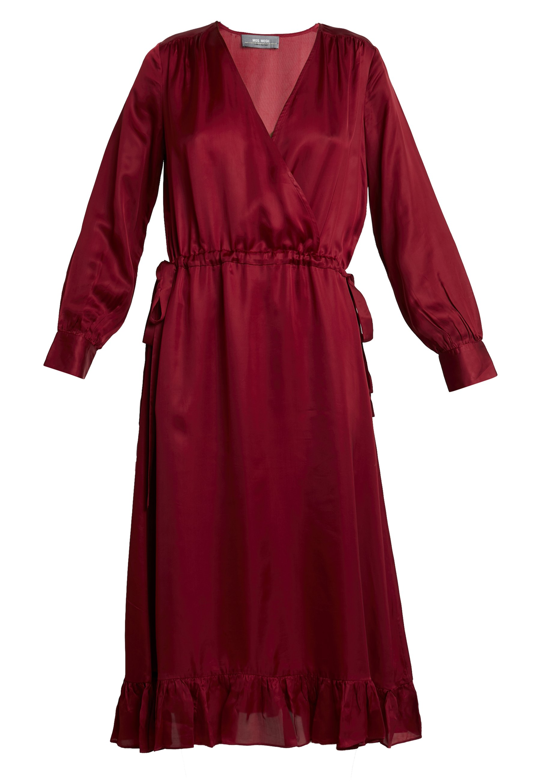 Mos Mosh CHITA DRESS Cocktailklänning redröd Zalando.se