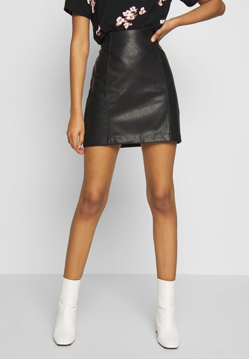 New Look - A-line skjørt - black