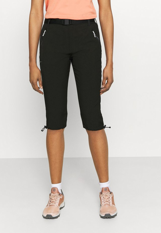 CAPRI LIGHT - 3/4 sportbroek - black