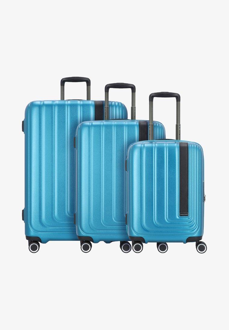 march luggage - SET - Luggage set - omega blue