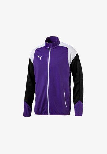 ESITO - Training jacket - lilaweiss