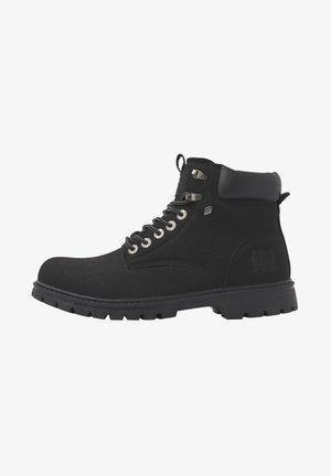 SNEAKER SECCO - Ankle boot - black/black