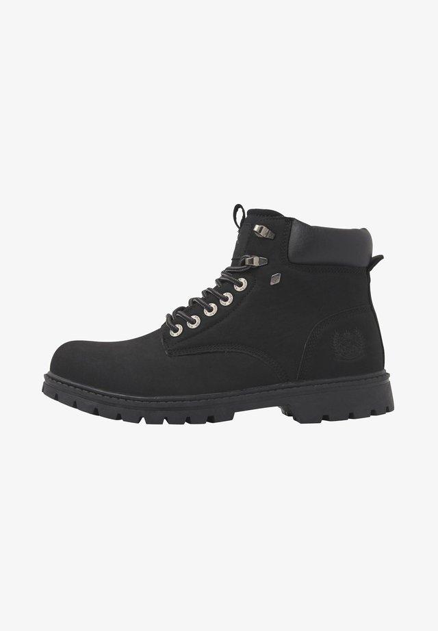 SNEAKER SECCO - Ankle boots - black/black