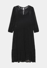 Vero Moda - VMGAIA 3/4 SLEEVE DRESS  - Cocktail dress / Party dress - black - 6